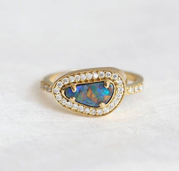 25 Cute Black Opal Ring Ideas On Pinterest Australian