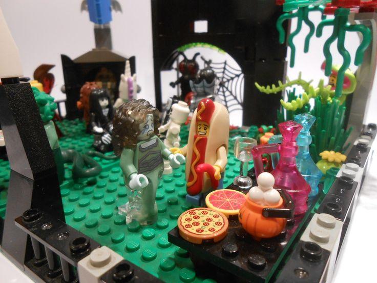 Bricks: Lego doodles POST THEM, by Zahru II