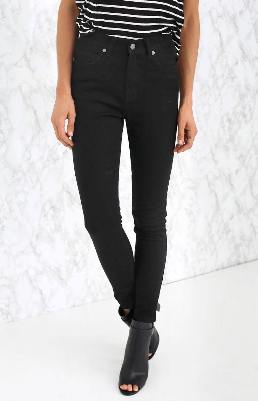 Afends Zeppelin High Waist Skinny Jeans  #BBFEST #Beginningboutique