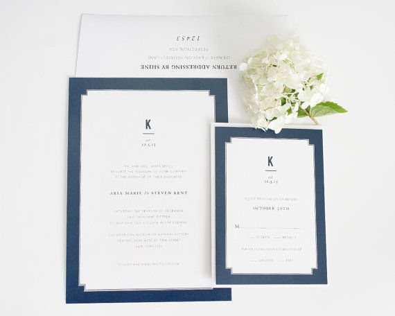 Dark Blue Wedding Invitations: 1000+ Ideas About Dark Blue Weddings On Pinterest