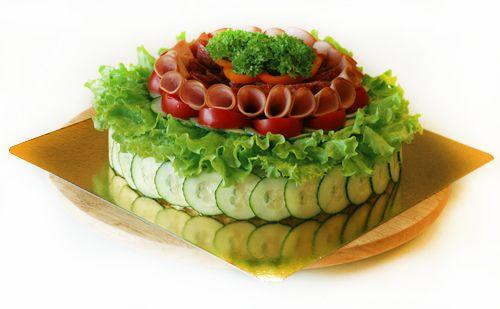 Smörgåstårta or cake sandwich 8-)
