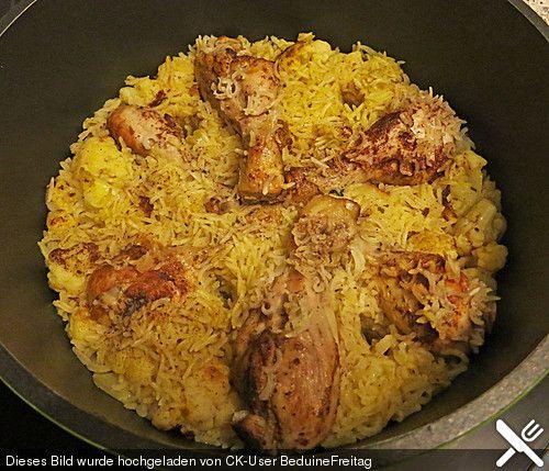 Maklumba- persischer Reis Soo lecker auch ohne Fleisch!