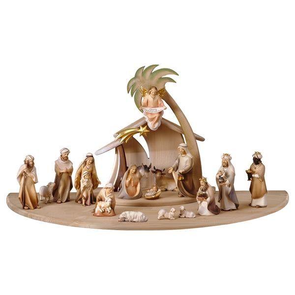 #szopka bożonarodzeniowa Comet - 22 figurki drewniane