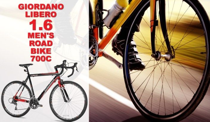 Giordano Libero 1.6 Men's entry level road bike