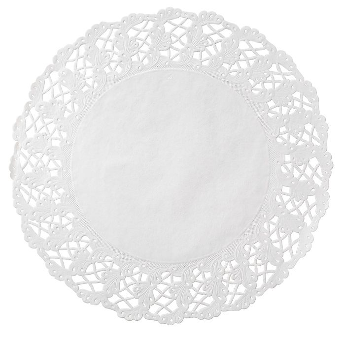 Kenmore Round Cake Lace Doily 500 Ct Compeive Bulk Pricing