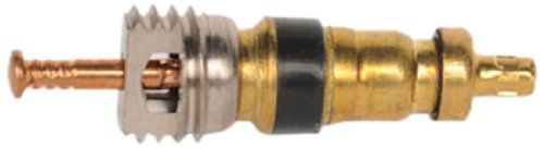 Automotive air conditioning Schrader valves sometimes leak and can be replaced without recovering the AC refrigerant.