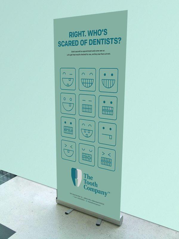 In a world where most dental chains are unwelcoming, cold and clinical, we wanted to create a brand that reassured people.