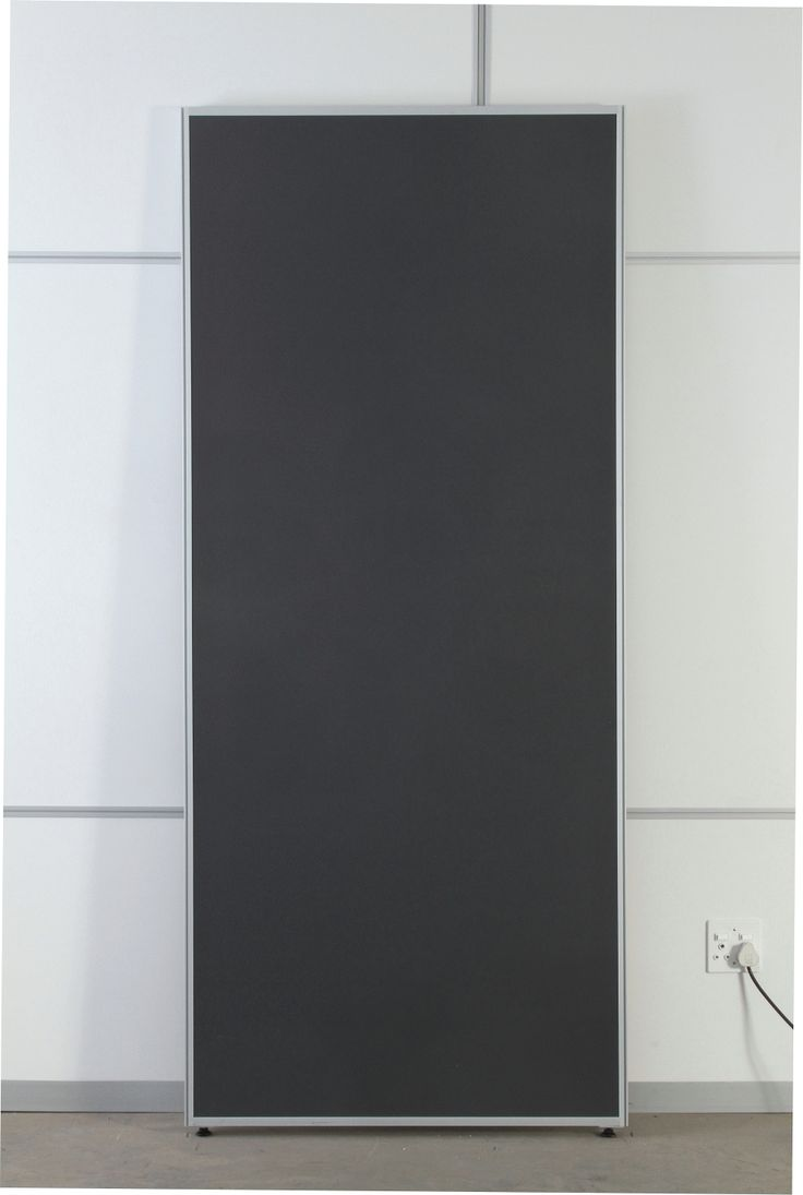 Able's reusable wall panels are made from a unique acoustic, fire retardant and thermal geo-polymer core and integrated aluminium frame.