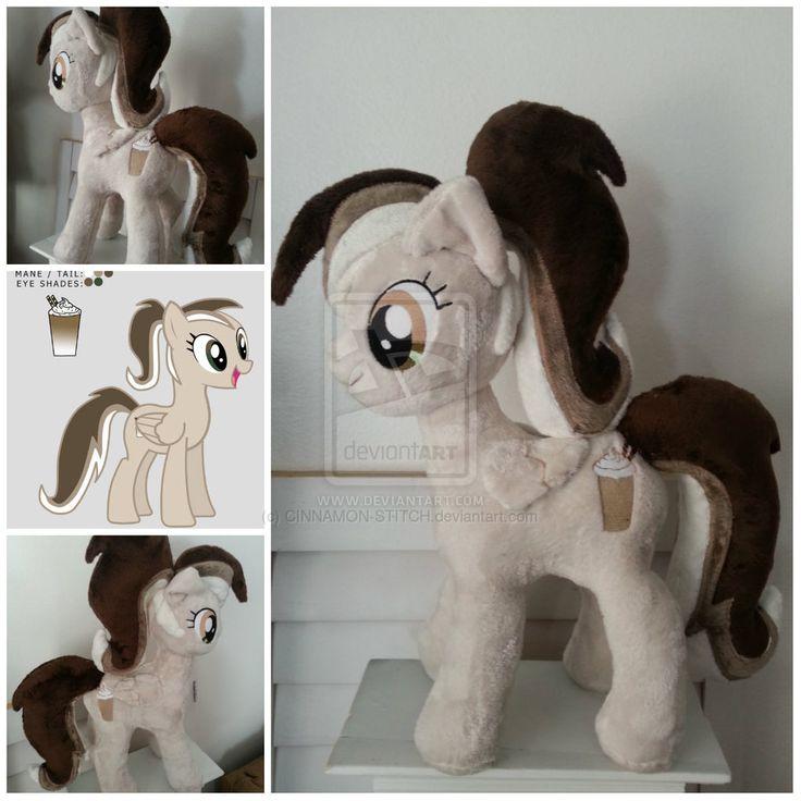 My Little Pony OC Plushie Commission by CINNAMON-STITCH.deviantart.com on @deviantART