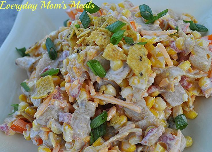 Corn chip salad, Corn chips and Salads on Pinterest