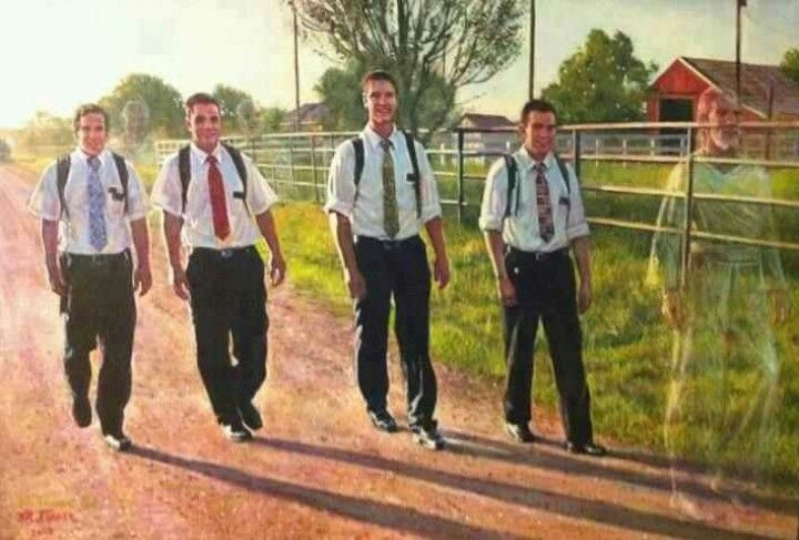 This makes me CRY. Missionaries♥