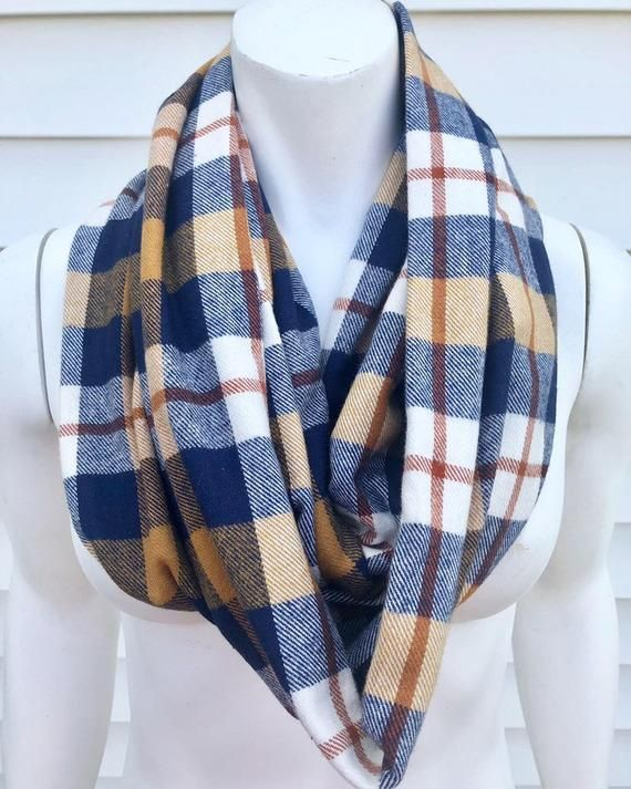Fall Flannel Plaid Scarf Plaid Flannel Scarves Fall Flannel