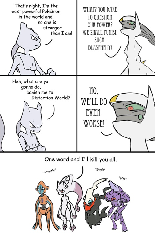 Do Not Mess With Arceus