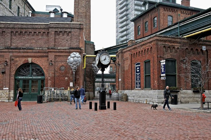 distillery district toronto - Google Search