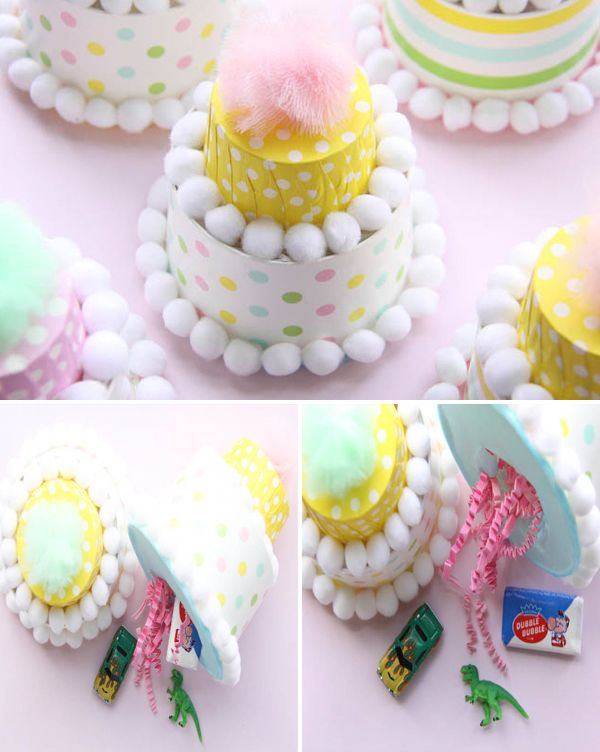 candy cup prize cakes {abby hunter for shop sweet lulu} - seriously cute