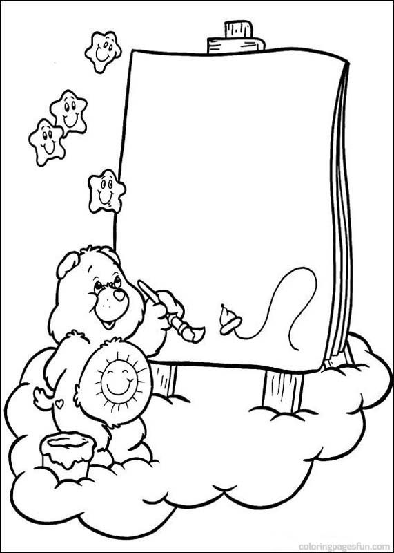 Care Bears Coloring Pages 42