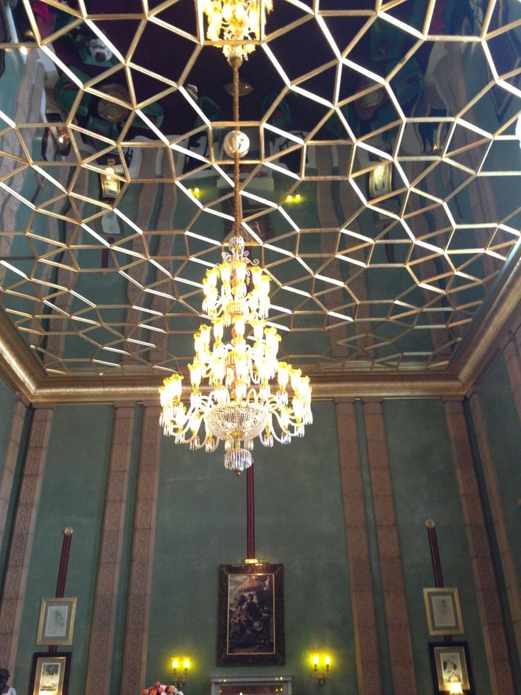Plafond salon indien taj palace marrakech d co pinterest for Salon indien