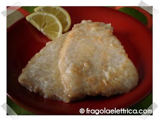 SCALOPPINE AL LIMONE fragolaelettrica.com Le ricette di Ennio Zaccariello #Ricetta