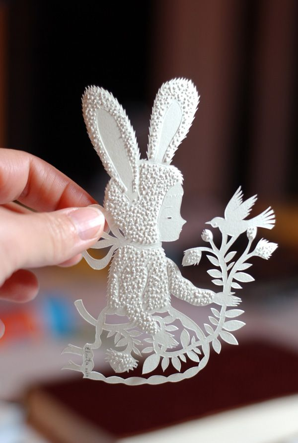 "papercut by elsita, ""paper fur"""