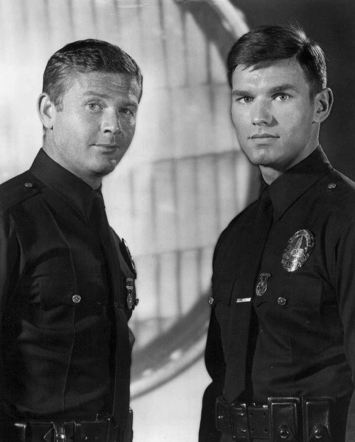 #Sixties | Martin Milner and Kent McCord, stars of Adam-12