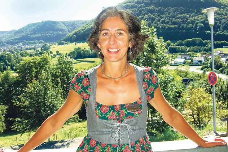 Frau Doris Junginger - Ihre Gastgeberin im AKZENT Hotel Restaurant Höhenblick.