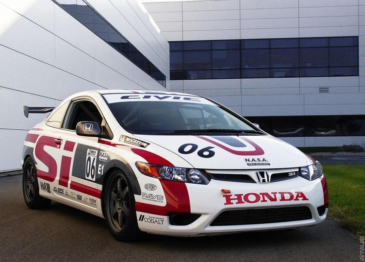 2006 Honda Civic Si Racecar