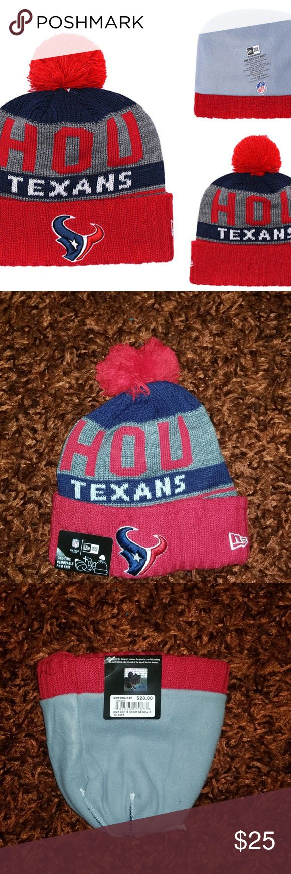 New Era Houston Texans Cuffed Knit Hat Brand new  Never used  Same bussiness day shipping Perfect gift for your friend, boyfriend or husband Check my …