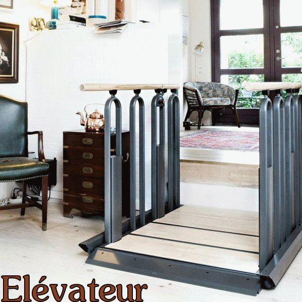 Elevateur electrique FLEXSTEP : l'escalier adapté d'ABC LIFT