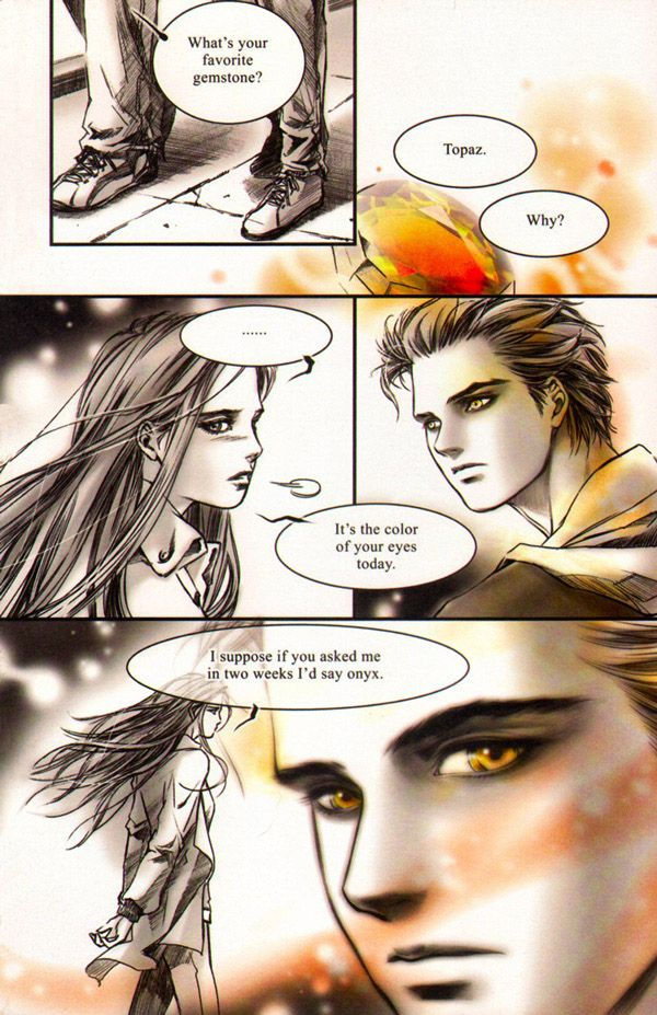 Twilight: The Graphic Novel (Volume 1) by Stephenie Meyer and Young Kim, p164