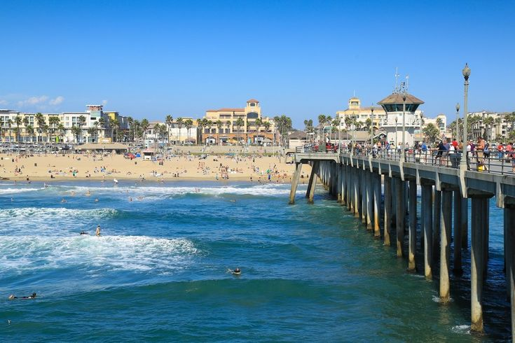 Huntington Beach - Huntington Beach - Best California Beach Nominee: 2015 10Best Readers' Choice Travel Awards