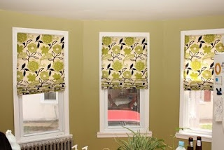 Supposedly Easy no sew Roman Shades...they don't look that easy to me but maybe they are easier than they look!!!