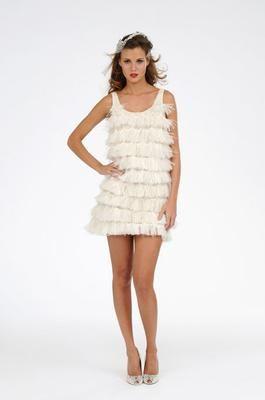 Melissa Sweet Vegas wedding dress - so fun for a reception dress!