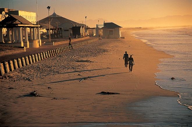 Cape Town, South Africa.  Cape Peninsula.  Muizenberg.