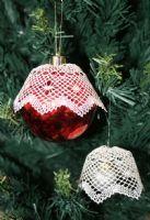 Christmas Baubles Torchon Bobbin Lace Pattern