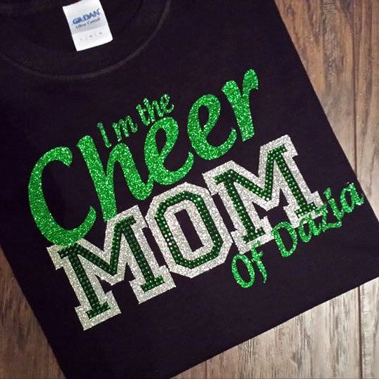Personalized Cheer Mom Shirt by SouthernStitchesMCD on Etsy https://www.etsy.com/listing/205861969/personalized-cheer-mom-shirt