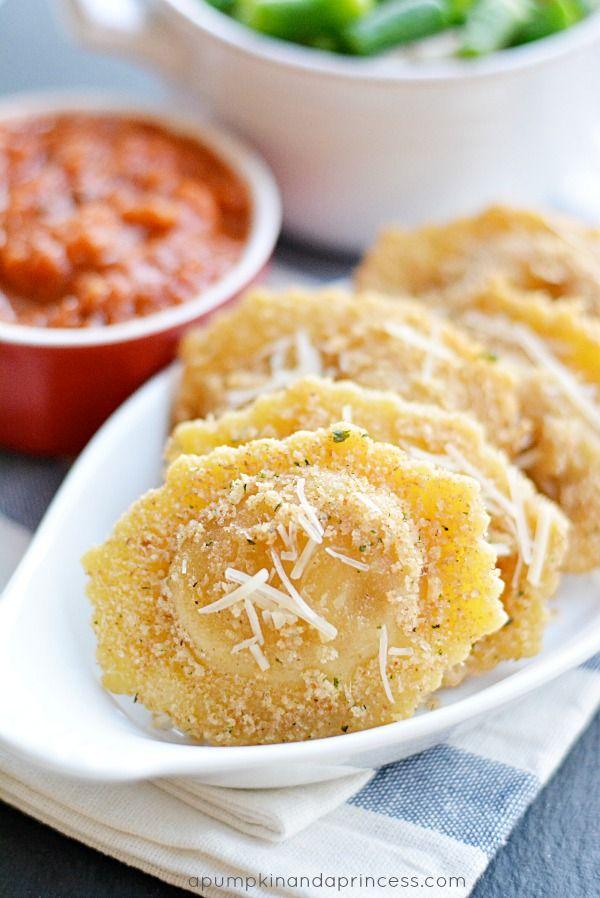 Parmesan Fried Ravioli Recipe
