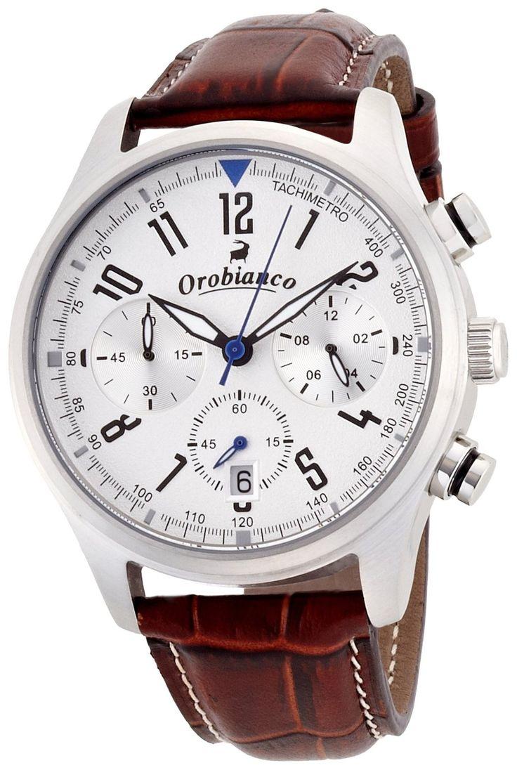 Amazon.co.jp: [オロビアンコ タイムオラ]Orobianco TIME-ORA クロノグラフ搭載 タキメトロ OR-0021-9 【正規輸入品】: 腕時計通販
