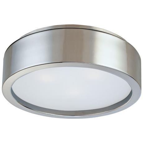sonneman puck 15u201d surface ceiling light fixture