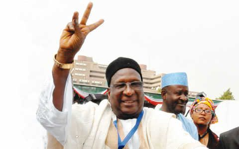 you have to CALCUFAST: PDP suspends Tukur