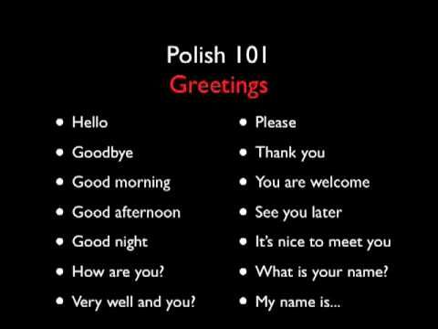 I want to learn a third Language. Perhaps Polish. This is a wonderful little series on youtube that has helped me learn a few phrases here and there.