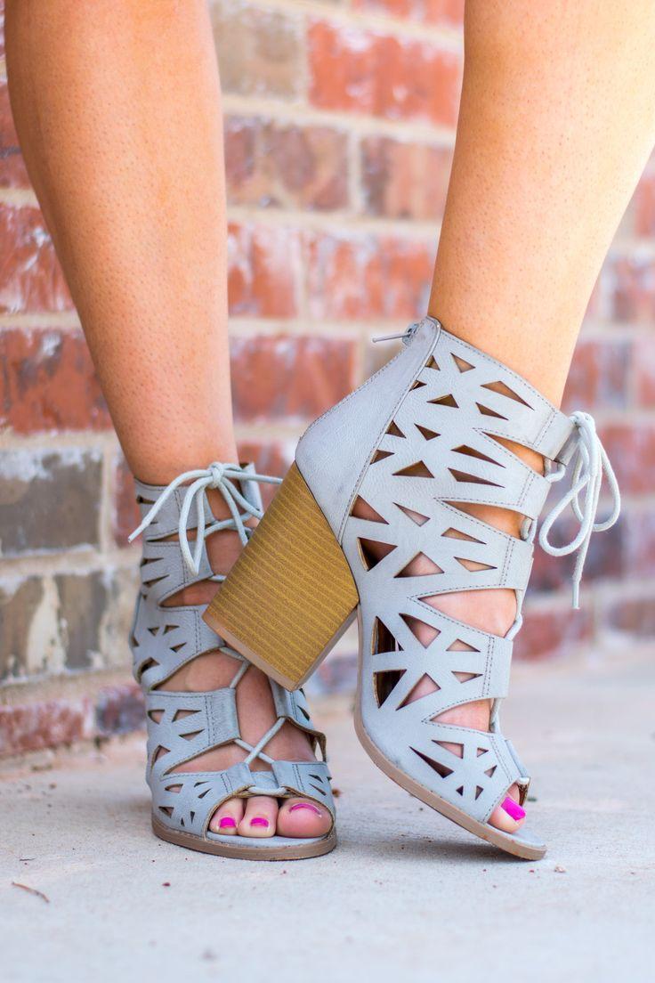 Lace up bootie-more colors #shoes