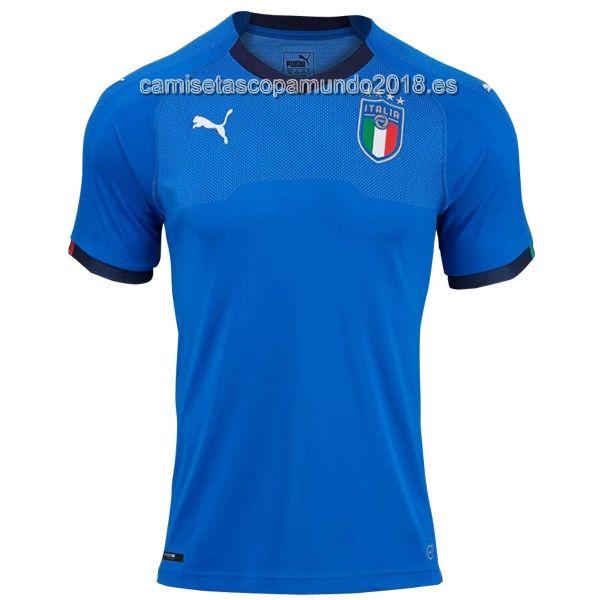 Tailandia Primera Camiseta Copa Mundo Italia 2018  4e8b1dadd570e