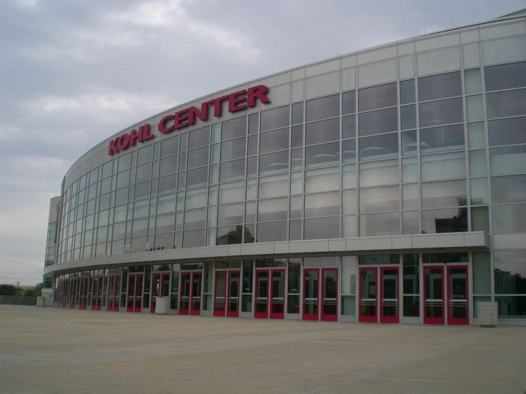 Kohl Center - Madison, WI Catch the indoor Badger sports teams here. Both male and female sports.