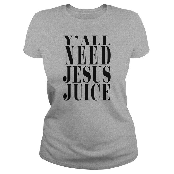 Yall need jesus juice tank  womens bamboo performance tank by all sport