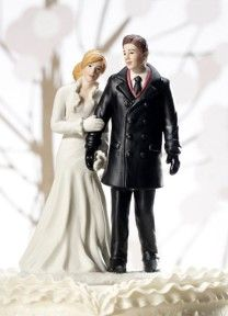 Winter Cake Topper | Available through Piece O' Cake