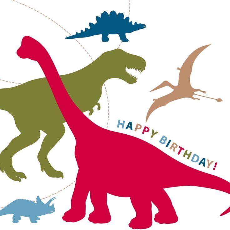 dinosaur birthday card by just smitten