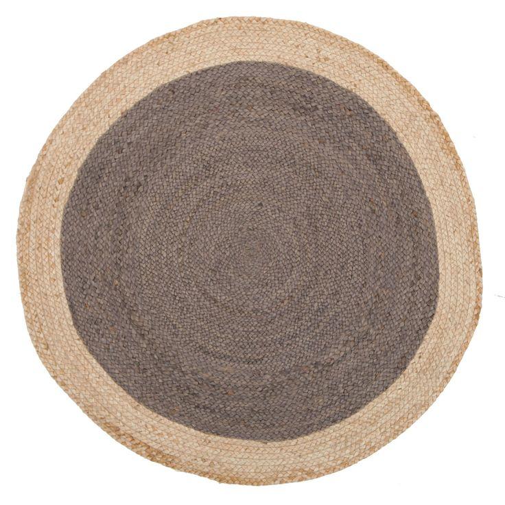 Rugs Express   Online Rug Store Australia - Alpine Charcoal Jute 120cm Round, $99.00 (http://www.rugsexpress.com.au/natural-wool/alpine-charcoal-jute-120cm-round/)