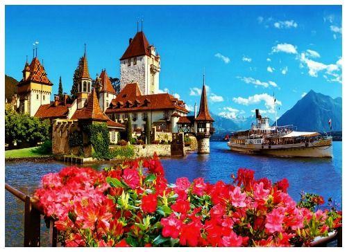 A Suíça e seus Castelos Medievais - Castelo Oberhofen