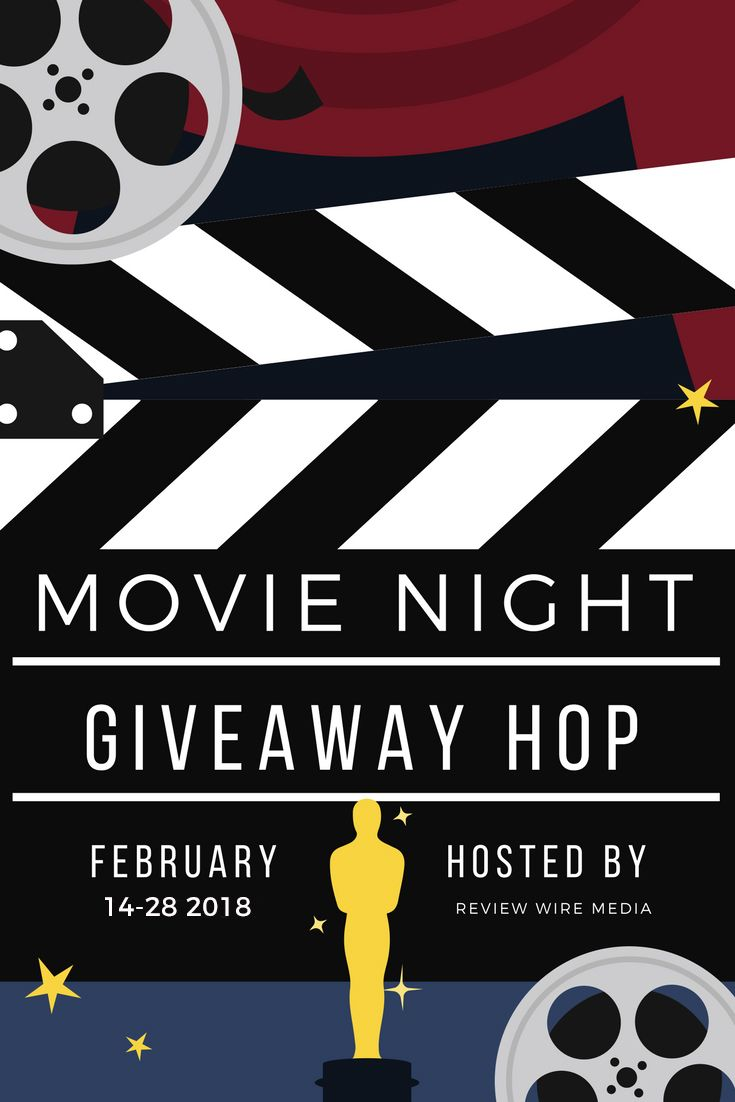 Movie Night Hop: 15 Bloggers with movie Related Giveaways! Ends 2/28/18  #movies #movienight #giveaways