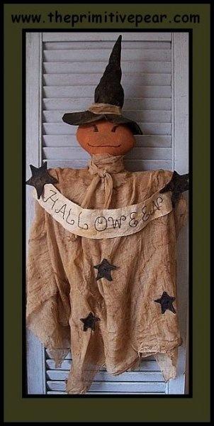 Primitive Halloween Jackoboo Witch